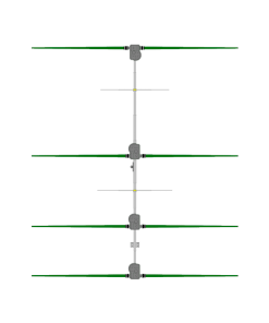 4 Element Yagi Antenna, 20m-6m - Steppir